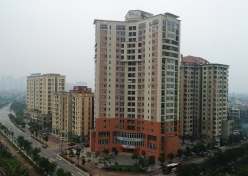 OCT3A building - Co Nhue-Xuan Dinh new urban area